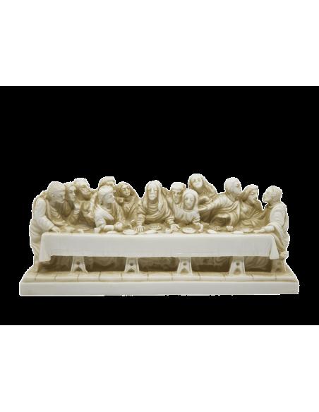 Ultima Cena o Cenacolo di Leonardo da Vinci patinato 20x6 cm
