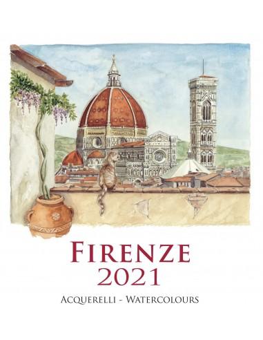 "2021 Calendar - Florence - 12,59""x12,59"""
