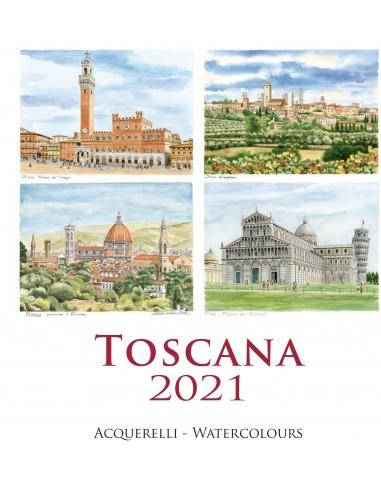 "2021 Calendar - Tuscany - 12,59""x12,59"""