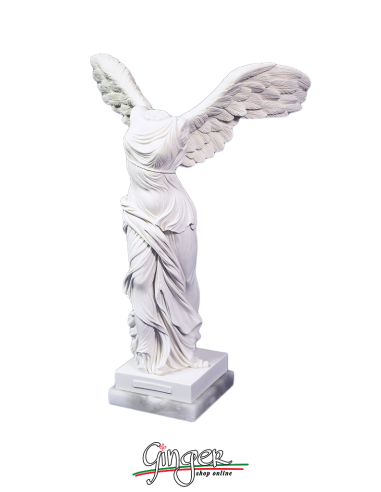 cable Plantación bronce  Winged Victory of Samothrace (Nike) 11,81 in - with alabaster base