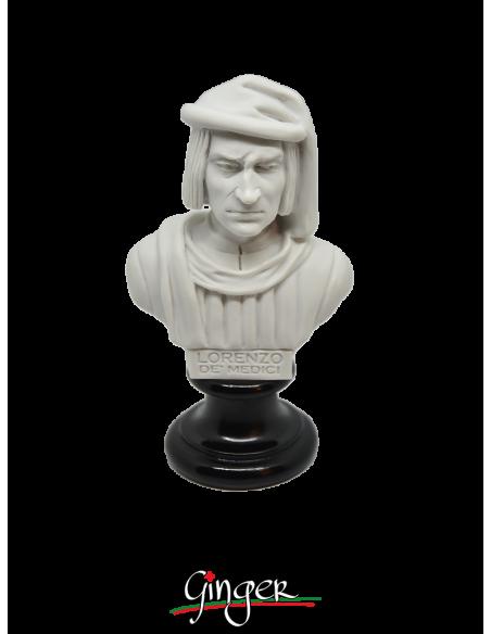 """Lorenzo de Medici """"il Magnifico"""" - busto 15 cm"""