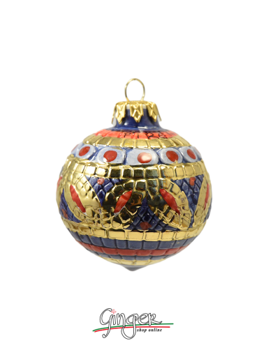 Christmas Ornament from Deruta - BL 2.36 in. or 3.15 in.