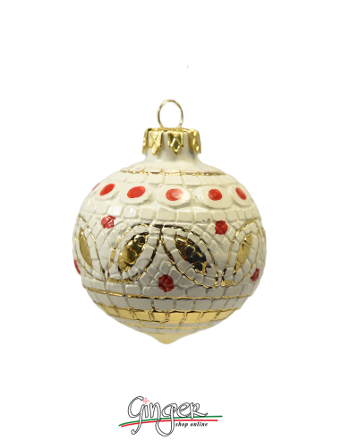 Christmas Ornament from Deruta - BI 2.36 in. or 3.15 in.