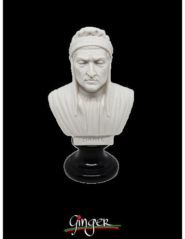 Dante Alighieri - busto 15 cm bianco