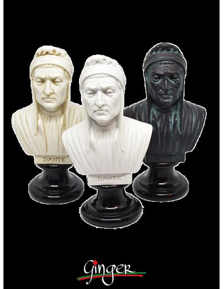 Dante Alighieri - busto 15 cm tre versioni