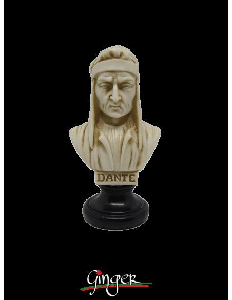 Dante Alighieri - busto patinato 10 cm