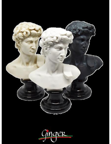 David di Michelangelo - busto 15 cm tre versioni