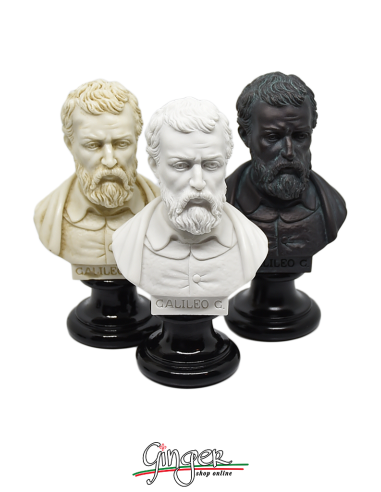 Galileo Galilei - busto 15 cm tre versioni
