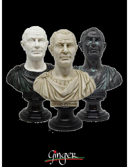 Giulio Cesare - busto 15 cm tre versioni