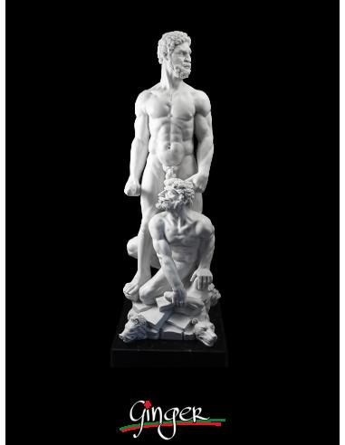 Hercules and Cacus - 18.9 in. (48 cm)