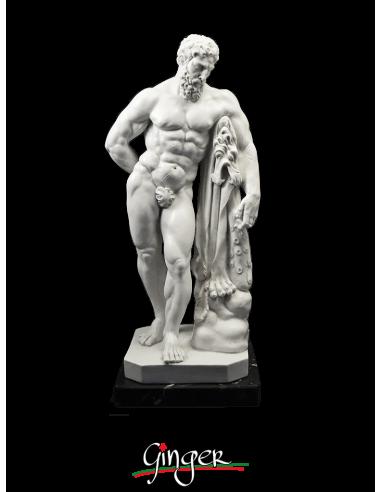 Farnese Hercules - 9.84 in. (25 cm)...