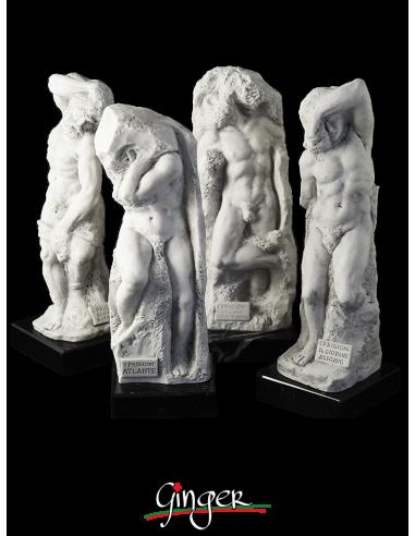 I Prigioni nella Galleria dell'Accademia a Firenze - 20 cm o 25 cm