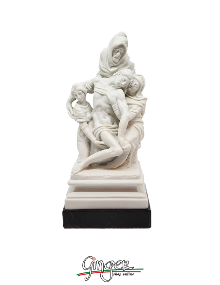 The Deposition or Bandini Pietà or Florentine Pietà by Michelangelo - 7.5 in. (19 cm)