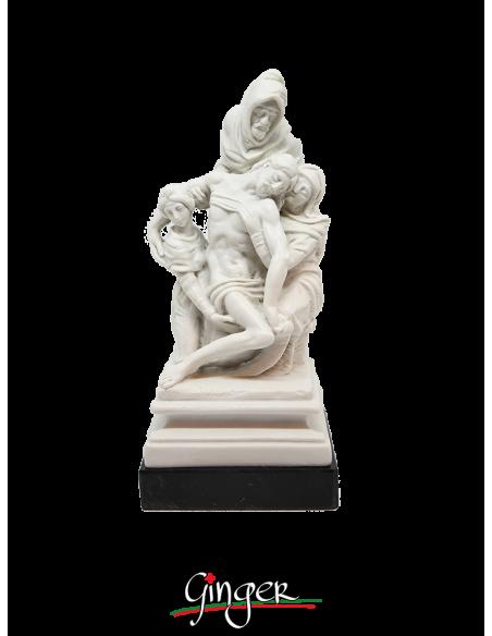 Pietà Bandini o Pietà Fiorentina - 19 cm - Ruggeri con base in marmo
