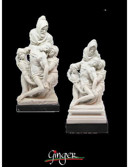 Pietà Bandini o Pietà Fiorentina - 19 cm o 29 cm - Ruggeri con base in marmo