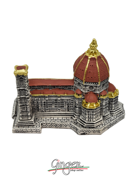 Florence Cathedral - base 3.9 in. x 5.9 in. (10 x 15 cm) - hand painted