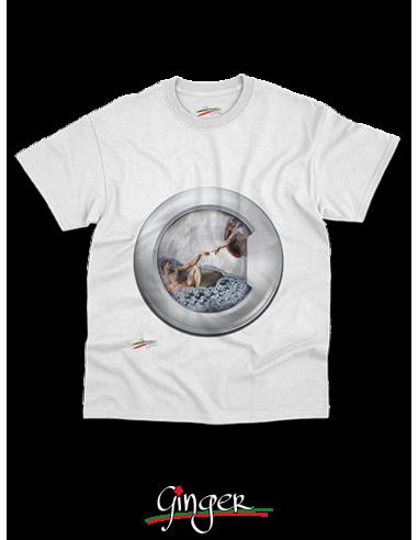 """T shirt """"New Art"""" - Creazione di Adamo"""