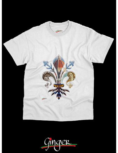 "T shirt ""New Art"" - Firenze nel Giglio"