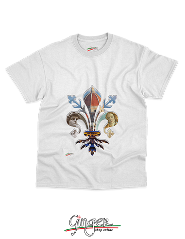 "T-shirt ""New Art"" - Florence in its Lily"