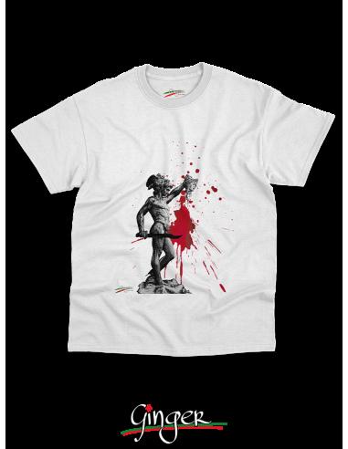 "T shirt ""New Art"" - Perseo con la testa di Medusa"
