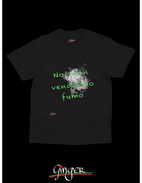 T shirt - Noi non vendiamo fumo ...
