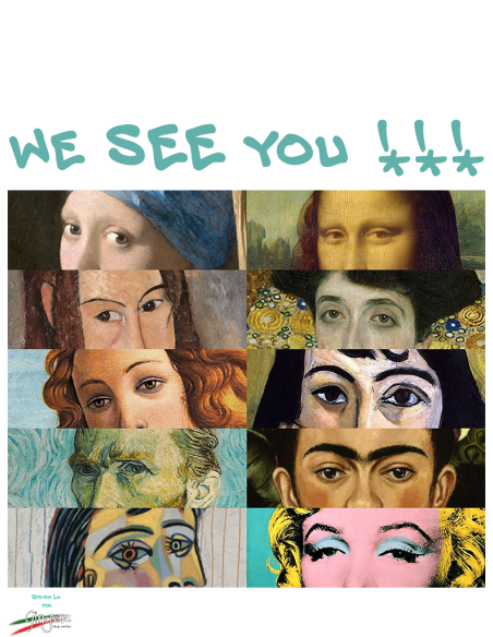 """T-shirt """"New Art"""" - We see you"""