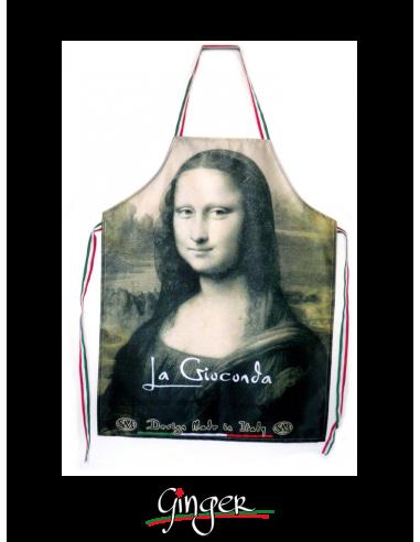 Grembiule Leonardo da Vinci - Monna Lisa o Gioconda