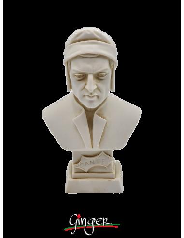 Dante Alighieri - busto patinato 11 cm
