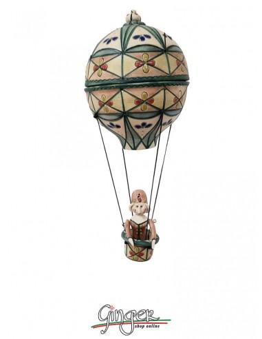 Hot Air Balloon in Porcelain...