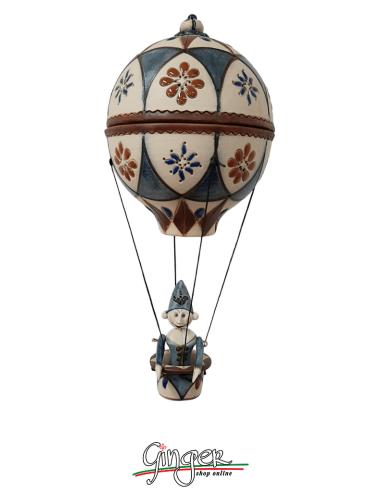 Hot Air Balloon in Porcelain...