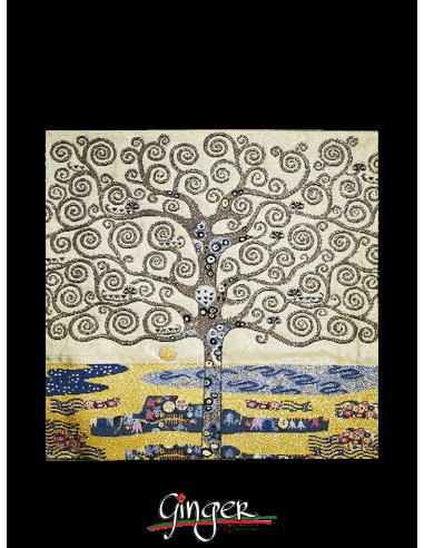 Albero della Vita di Klimt - Cuscino 42x42 cm