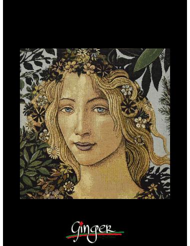 Primavera di Botticelli (Flora) - Cuscino