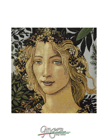 Spring by Botticelli (Flora) - Pillow