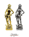 David di Donatello - 28 cm - colore oro o argento